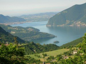 Lago d'Iseo - Panorama
