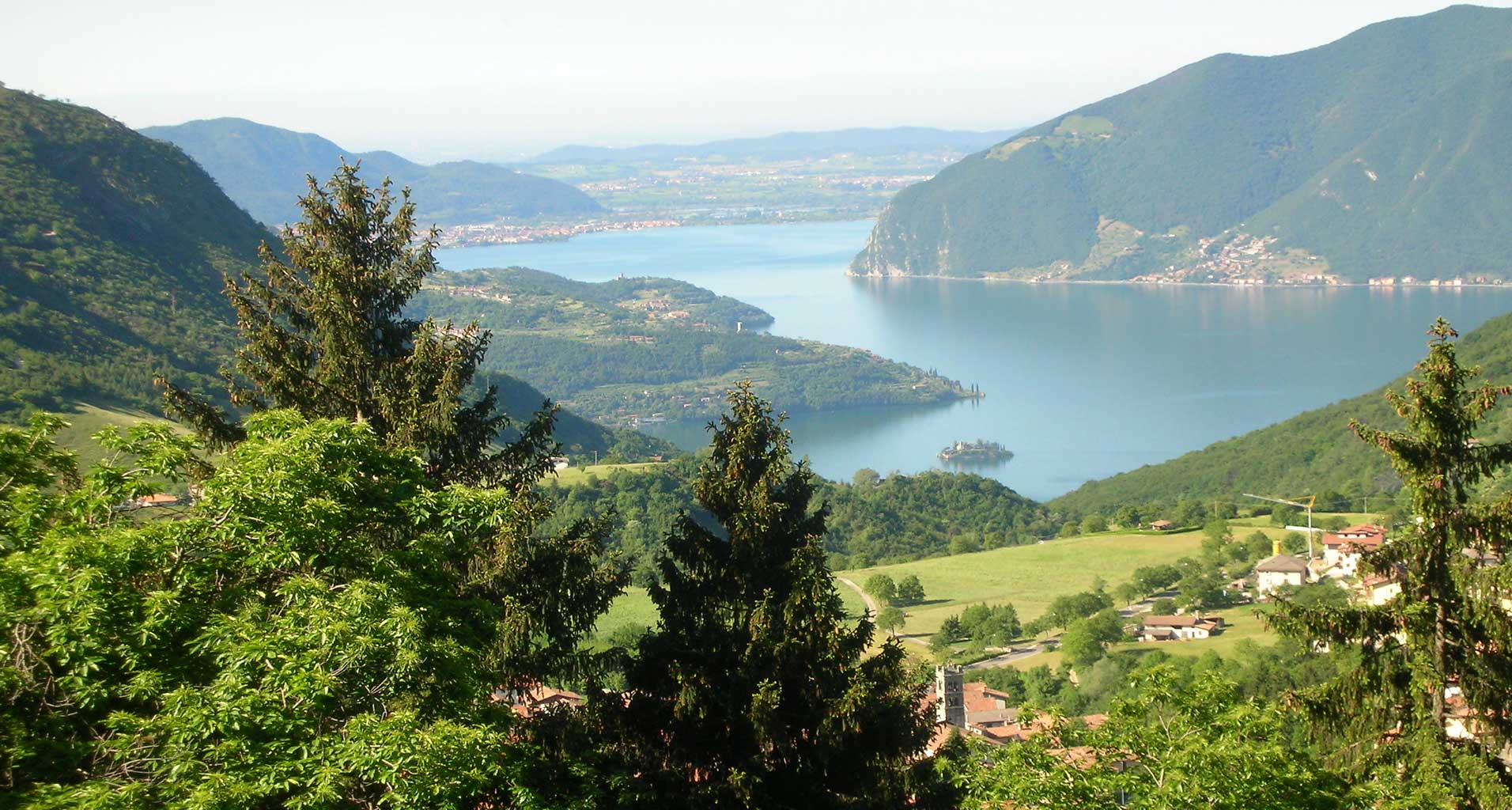 iseo ,lago, montagna